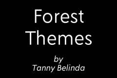 Forest Themes on premium canvas