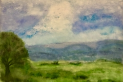 IL-002 Irish Stone Wall - acryl on premium canvas
