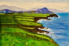 IL-001 Irish Cliffs - acryl on premium canvas
